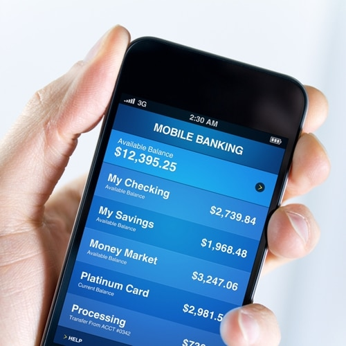 Can mobile improve data security in financial services?