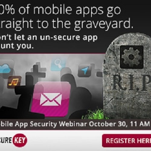 Learn how to improve mobile engagement with SecureKey on Oct. 30